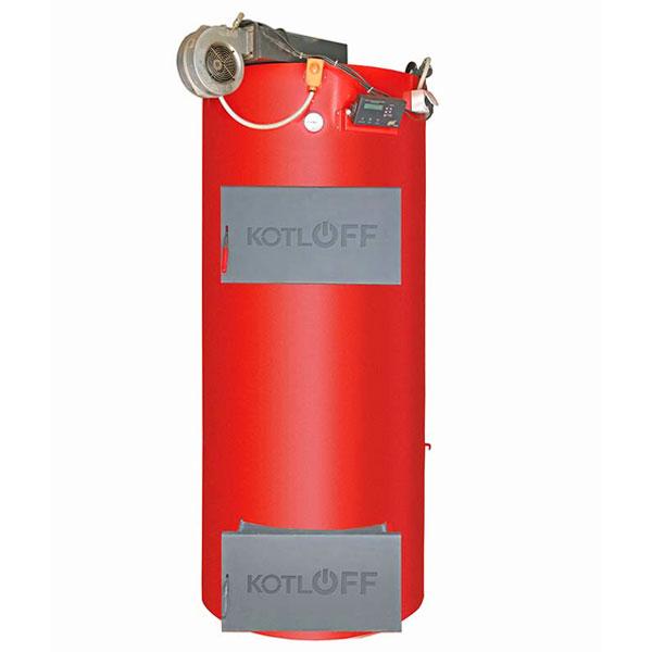 Kotloff WSU sustained fire solid-fuel boiler