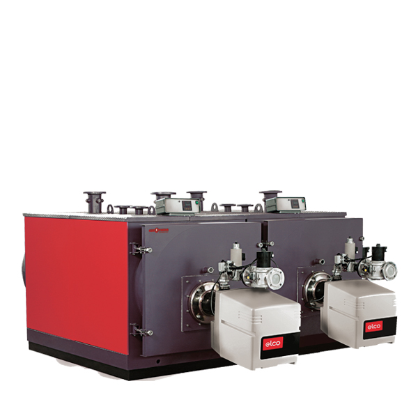 Fire-tube gas boilers with capacity 90-3000 kWt