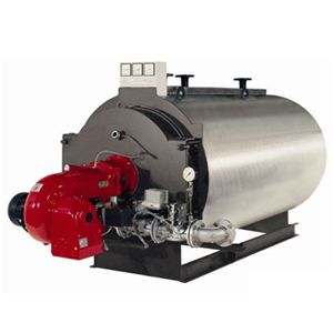 Fire-tube threeway boilers with capacity 5000-23000 kWt