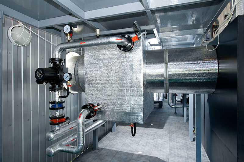 Transportable Modular Boiler Stations